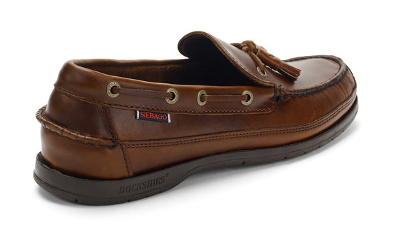 5103cfaac2eb7 Ketch Waxed Leather Loafer Brown Gum for Mens | Loafer Shoes | Sebago