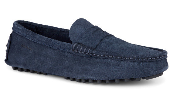 Russel Suede Loafer Blue Navy for Mens