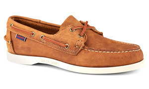 0e6f7aa2a5873 View the Dockside Portland Suede Boat Shoe online at Sebago
