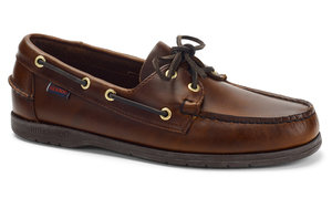 89b1d7244b View the Endeavor Waxed Leather Boat Shoe online at Sebago